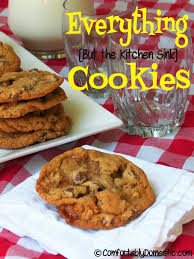 Everything But the Kitchen Sink Cookies fortably Domestic
