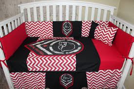 Vintage Baseball Crib Bedding by Crib Bedding Set Custom 6 Piece Metal Mulisha