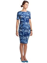 isabella oliver marban patterned maternity dress in blue lyst