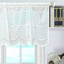 de decdeal vorhang volant gitter stil kurze gardinen