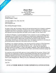 Summary Sample For Cover Letter Volunteer Work Collection Solutions Hospital