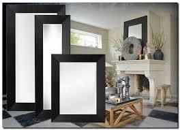 moderne spiegel romano schwarz