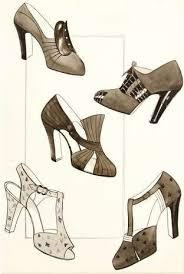 Vintage Shoe Add For Blocks Love Them