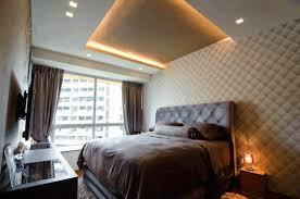 Bedroom Ceiling Design Ideas by Ceiling Designs Bedroom Dark Blue Soft Swivel Chair Light Glass