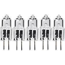 5pack lse lighting g4 12v 10w halogen bulb jc bi pin light 10