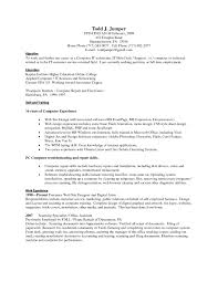 Sample Resume Skills For Computer Hardware Professional Beautiful Basic Puter Primary Snapshot Collection
