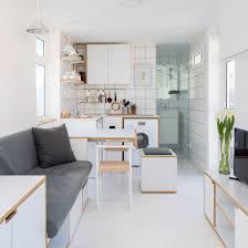 100 Residential Interior Design Magazine Rooftop Micro Apartment In Beirut Packs Everything Into 16 Square Metres