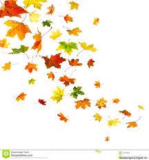 fall leaves border clip art
