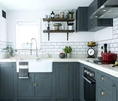 cuisine grise et plan de travail noir cuisine grise avec plan de travail noir plan plus cuisine plan