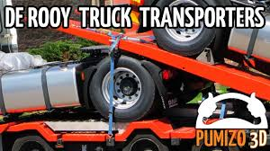 100 Truck Transporters De Rooy In 2008 YouTube