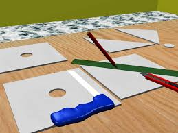 4 X 8 Drop Ceiling Panels by How To Cut Ceiling Tiles 8 Steps With Pictures Wikihow