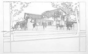 100 Frank Lloyd Wright Sketches For Sale Reproduction Susan Lawrence Dana House Vase
