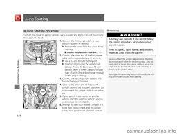Malfunction Indicator Lamp Honda Fit by Charging Honda Fit 2017 3 G Owners Manual