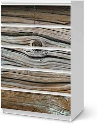 möbelfolie selbstklebend passend für ikea malm kommode 6 schubladen hoch i möbelaufkleber möbel sticker aufkleber folie i deko wohnung für