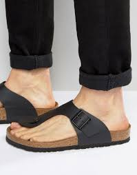 birkenstock men birkenstock sandals black footwear ramses quite
