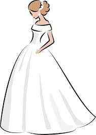 Favorite Wedding Dress Clipart 71 Rent A Dress With Wedding Dress Clipart