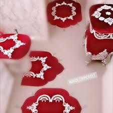 meinbadezimmer rot weiß dekoration deko
