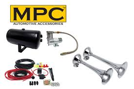 Car & Truck Air Horn Kit 12 Volt W/ 120 PSI External Mount Air ... Wolo Mfg Corp Air Horns Horn Accsories Comprresors Amazoncom 12v Dual Trumpet Air Horn Zone Tech Premium Quality Other Car Care Truck Train 6 Liter Tank Compressor 4 12v Truck Air Horn Youtube Aliexpresscom Buy Boat 178db Stebel Nautilus Compact 12volt 300hz Deep 110db Kleinn Horns Sdkit730 Bolton Hornonboard Cheap Find Deals On Line At Alibacom New 150db Single Plated Metal Kit Universal Complete System With Compressor Tank And 150db Mega W Dc