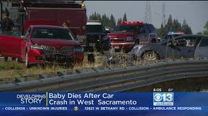 Infant Dies After Crash Sunday On I-80 In West Sacramento « CBS ...
