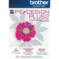 Brother PE Design Plus 2 Embroidery Design Software at Ken s