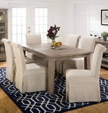 Big Slipcover Dining Room Chairs Custom