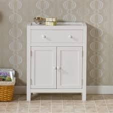Small Narrow Floor Cabinet by Maine Slim Freestanding Bathroom Cabinet With 3 Drawers For White