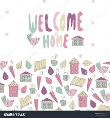 Cute Hand Drawn Doodle Card Postcard Stock Vector 327385733 ... Home Decor Top Military Welcome Decorations Interior Design Awesome Designs Images Ideas Beautiful Greeting Card Scratched Stock Vector And Colors Arstic Poster 424717273 Baby Boy Paleovelocom Total Eclipse Of The Heart A Sweaty Hecoming Story The Welcome Home Printable Expinmemberproco Signs Amazing Wall Wooden Signs Style Best To Decoration Ekterior
