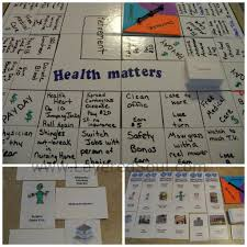 DIY Science Board Game Health Matters
