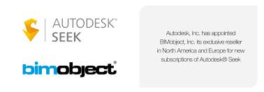 autodesk inc has appointed bimobject inc its exclusive