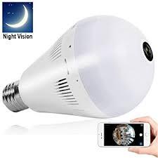 bellcam light bulb security wifi ip wireless