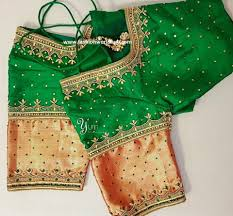 2017 latest maggam work blouse designs fashionworldhub