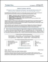 100 How To Write A Good Resume This Technical Writer Resume Example Illustrates Many Best Practices