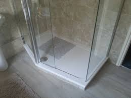 plumbing how to resolve a in the shower floor home