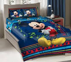 4pcs licensed disney mickey mouse fun bedding comforter set