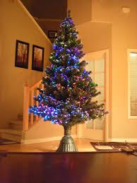 White Fiber Optic Christmas Tree Walmart by Decorating Breathtaking Fiber Optic Christmas Tree With Sparkling