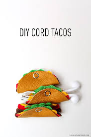 Electronic Cord Solutions Easy Craft Ideas To Sell Online Tacos Crafts