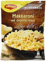 maggi wirtshaus makkaroni mit dreierlei käse 170 g beutel ergibt 2 portionen 12er pack 12 x 170g