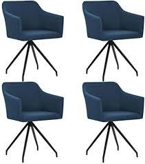 de irfora esszimmerstühle drehbar 4er set modern