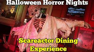 Bakery Story Halloween 2012 Download by Review Scareactor Dining Experience At Universal Orlando