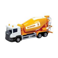 100 Cement Mixer Toy Truck Cek Harga RMZ City Scania Freewheel Diecast