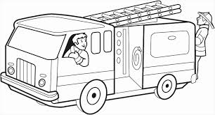 Free Fire Truck Coloring Pages To Print Of Free Fire Truck Coloring ...