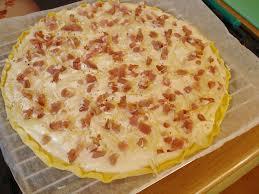 flammeküeche express aux lardons fromage blanc la cuisine de