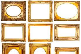 cadres anciens pas cher comment chiner des cadres en bois doré