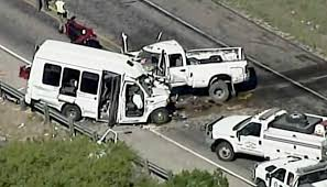 100 Truck Driving School San Antonio Witness Driver Who Hit Church Bus Said He Was Texting