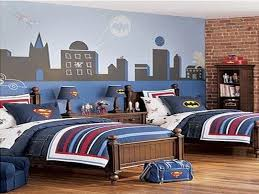superhero bedroom favored by boys cement patio