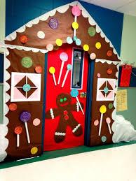 Kindergarten Winter Door Decorations by Backyards Gingerbread Door Classroom Decorations Winter House