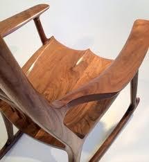 Jfk Rocking Chair Auction by Paddle8 Rocking Chair Sam Maloof Studio