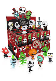 Nightmare Before Christmas Bath Toy Set by Mystery Minis Blind Box The Nightmare Before Christmas Funko