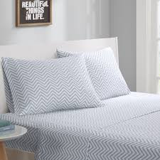 Calvin Klein Bedding by Intelligent Design Cotton Blend Jersey Knit Sheet Set Ebay