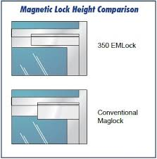 Magnetic Lock Kit For Cabinets by Complete Single Door Magnetic Lock Kit For Storefront Doors By
